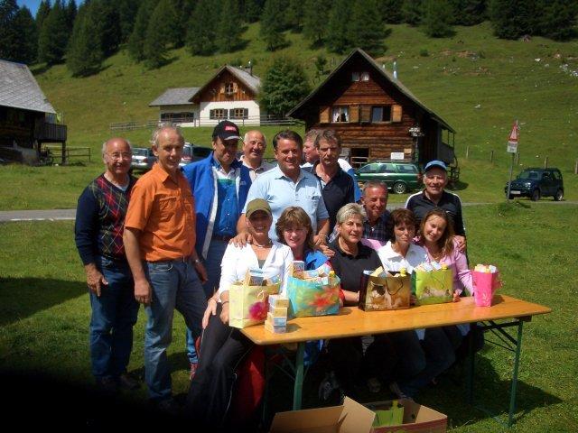 5. Rad Classic auf die Egger Alm 2008
