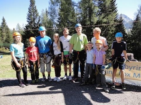 Klettergarten NTC sponsored by Christian