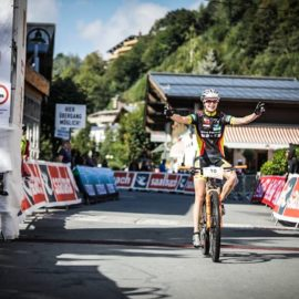 Worldgames of Mountainbiking Wieltschnig Julia